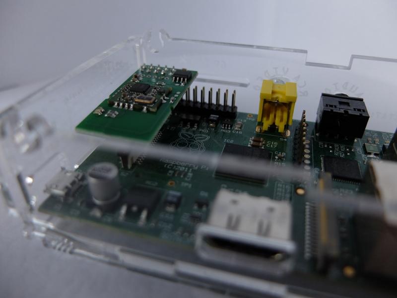 RaZberry Pi Z-Wave module arrived – ago control – open